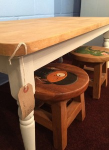 Child's table & stools