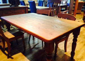5ft Farmhouse table - £235