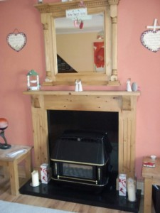 Fire place surround - ?195